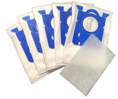 Beflexx stofzuigerzakken 5 stuks + filter